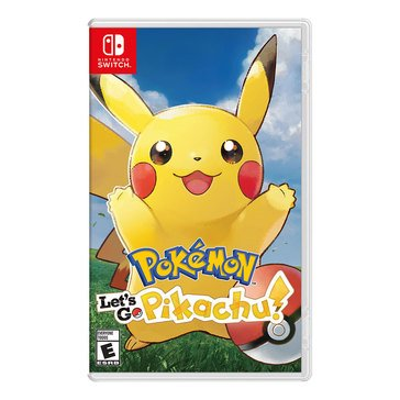 Switch Pokemon: Let's Go Pikachu