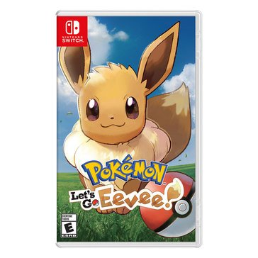 Switch Pokemon: Let's Go Eevee