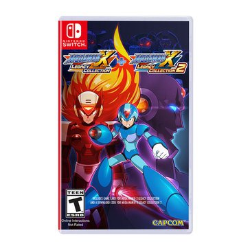 Switch Mega Man X Legacy Collection 1 + 2
