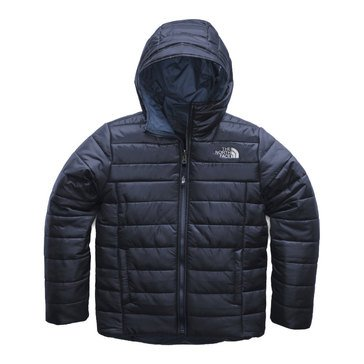 The North Face Big Boys' Reversible Perrito Triclimate Jacket, Black