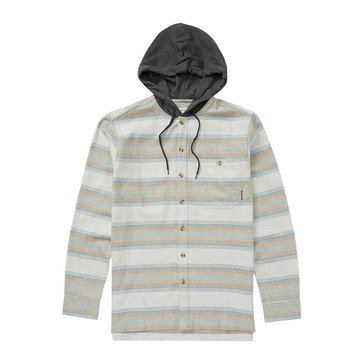 Billabong Men's Baja Striped Flannel Rugby