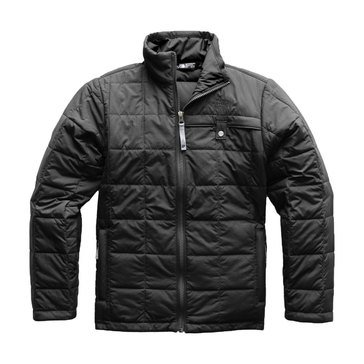 The North Face Big Boys' Harway Quilted Jacket, Black