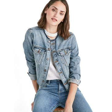 Lucky Brand Women's Raw Edge Trucker Jacket