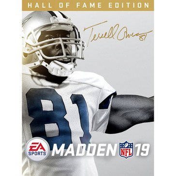 PS4 Madden 19 Hall of Fame Deluxe Edition