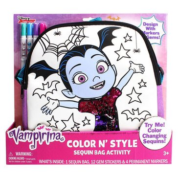 Vampirina Color 'N Style Sequins Purse
