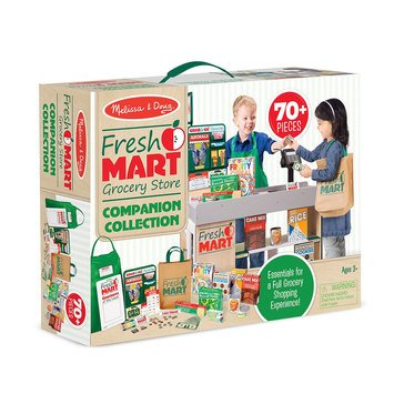 Melissa & Doug Fresh Mart Grocery Store Companion 70-Piece Set