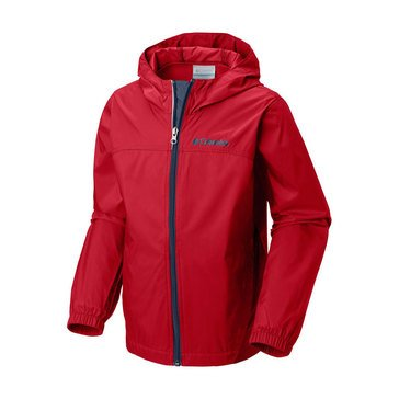 Columbia Big Boys' Glennaker Rain Jacket, Red