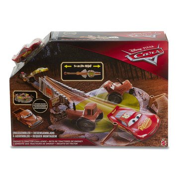 Disney Cars Smokey's HIT Course Set Stuntin' Track