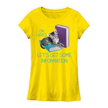 Yarn & Sea Little Girls' Ok Ladies... Graphic Tee