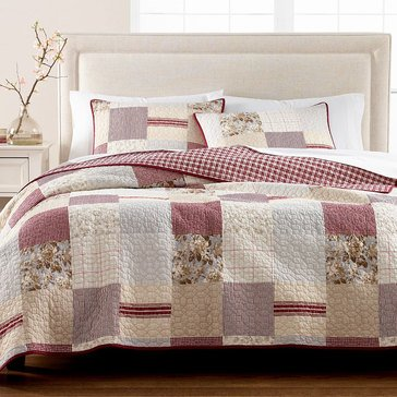 Martha Stewart Collection Farmhouse Patchwork Quilt