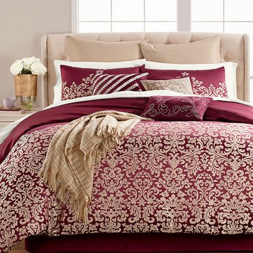 Martha Stewart Collection Antique Damask 14-Piece Comforter Set