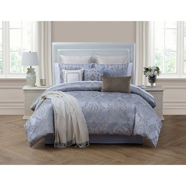 Martha Stewart Collection Metallic Medallion 14-Piece Comforter Set