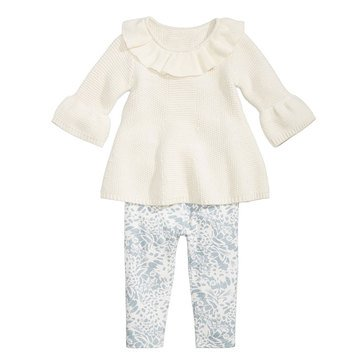 First Impressions Baby Girls' Sweater Tunic Set