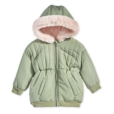 First Impressions Baby Girls' Hooded Parka