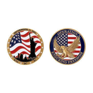 Vanguard Operation Enduring Freedom Coin