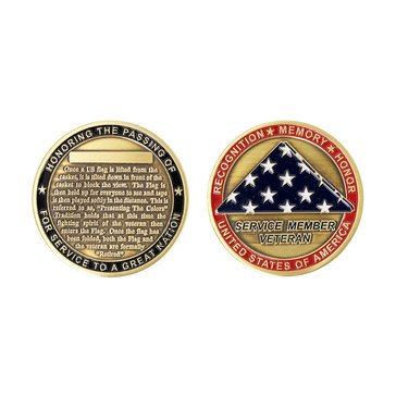 Vanguard USN Presenting the Flag Coin