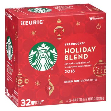 Starbucks Holiday Blend K-Cup Pods, 32-Count