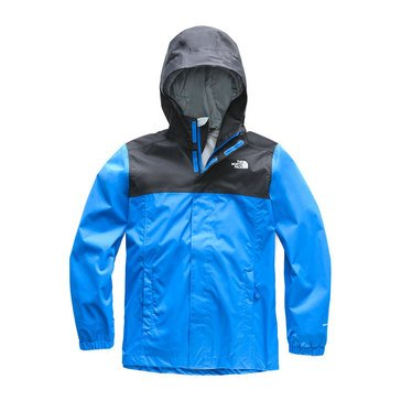 The North Face Big Boys' Resolve Reflective Jacket, Black