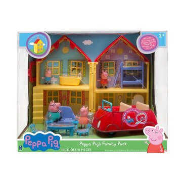Peppa Pig Deluxe House Family Pack