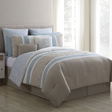 Harbor Home Gold Kenzy 10-Piece Comforter Set