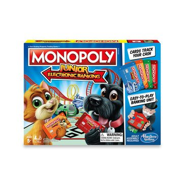 Monopoly Game, Junior Electronic Banking