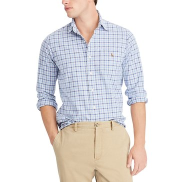 Polo Ralph Lauren Men's Long Sleeve Plaid Sport Shirt