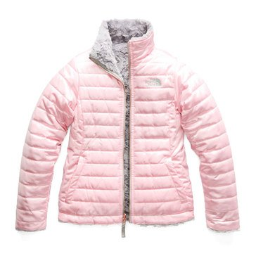 The North Face Big Girls' Reversible Mossbud Swirl Jacket