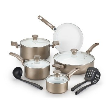 T-Fal 12-Piece Ceramic Chef Cookware Set