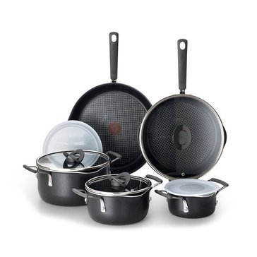 T-Fal Stackables 10-Piece Cookware Set