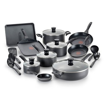 T-Fal Easy Care 20-Piece Cookware Set