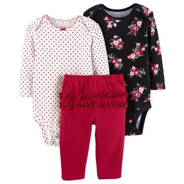 Carter's Baby Girls' 3-Piece Turn Me Around Floral Set