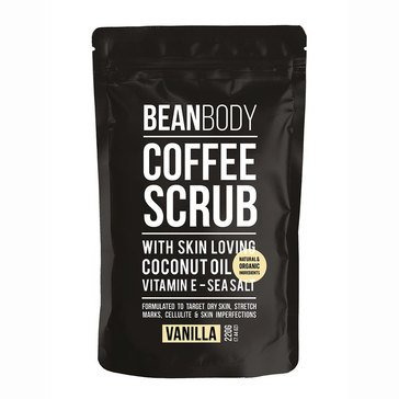 Bean Body Vanilla Coffee Scrub 220g