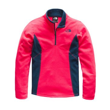 The North Face Big Girls' Glacier Quarter Zip