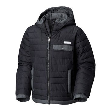 Columbia Big Boys' Mountainside Full Zip Jacket, Black