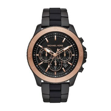 Michael Kors Women's Theroux Black Bracelet Watch, 44mm
