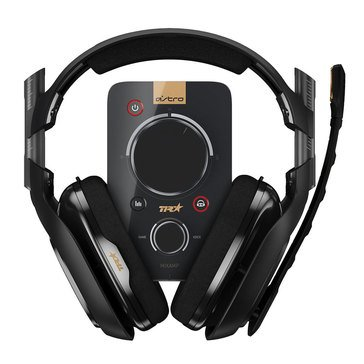 Astro A40 PS4/PC TR + MixAmp Pro TR Headset, Black