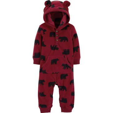Carter's Baby Boys' Bear Jumpsuit
