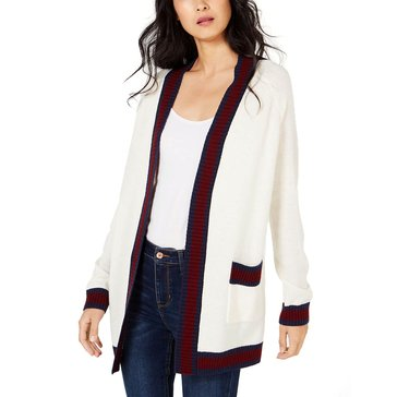 Maison Jules Women's Varsity Striped Cardigan