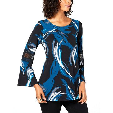 Alfani Women's Tossed Stroke Tunic Top