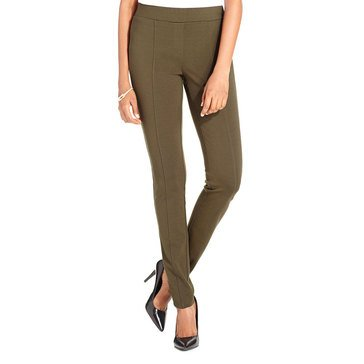 Style & Co Women's Front Seam Ponte Pants