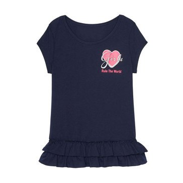 Yarn & Sea Little Girls' Graphic Tee
