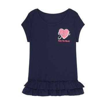Yarn & Sea Toddler Girls' Graphic Tee