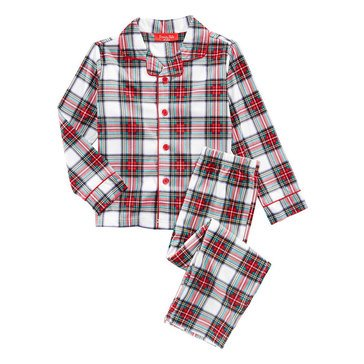 Charter Club Family Plaid Stewart  Kid's Pjs