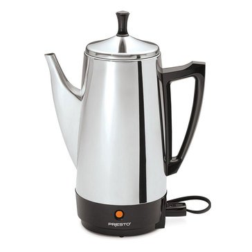 Presto 12-Cup Stainless Steel Percolator (02811)