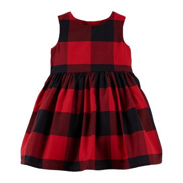 Carter's Baby Girls' Holiday Sateen Dress