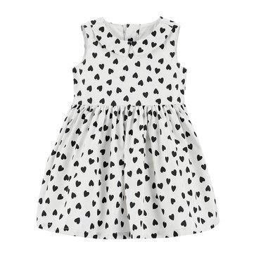 Carter's Baby Girls' Holiday Heart Print Dress