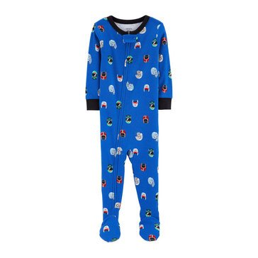 Carter's Baby Boys' Cotton Football Helmets Pajamas