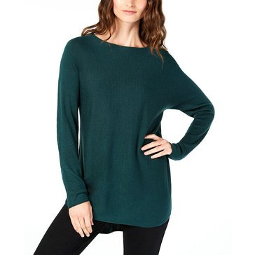 I.N.C. International Concepts Women's Solid Shirttail Tunic