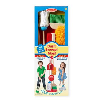 Melissa & Doug Let's Play House Dust Sweep and Mop