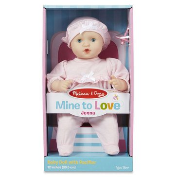 Melissa & Doug Jenna - 12in Doll
